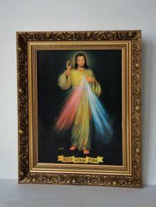 obraz jezusa miłosiernego jest bardzo znany
